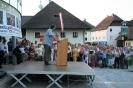 Großer Empfang nach unserem Grand Prix Sieg  in unserer Heimatgemeinde