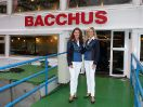 Schifffahrt auf der MS Bacchus